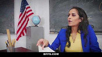 Me follé con mi profesora sexy brasileña